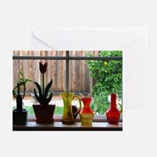 Kitchen Window Greeting Cards (Pk of 10)