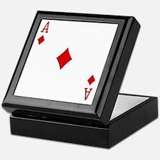 Ace of Diamonds Keepsake Box