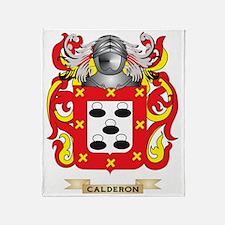 Calderon Coat of Arms Throw Blanket