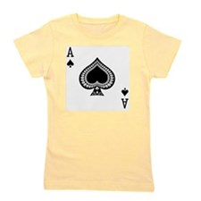 Ace of Spades Girl's Tee