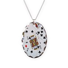 Spread out game cards Necklace