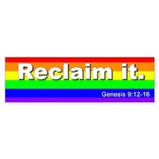 Reclaim it bumper sticker