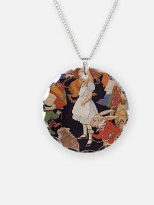 Alice in Wonderland 1923 ill Necklace