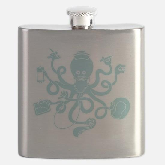 octopus-nurse-MUG Flask