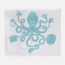 octopus-nurse-MUG Throw Blanket