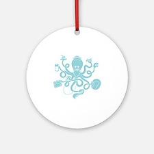 octopus-nurse-MUG Round Ornament