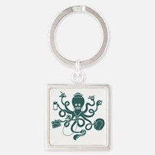 octopus-nurse-LTT Square Keychain