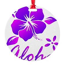 Aloha Purple Ornament