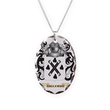 Callaway Coat of Arms Necklace Oval Charm