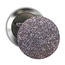 """Faux silver glitter 2.25"""" Button"""