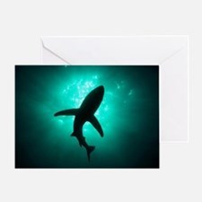 In the silence of the deep Greeting Card