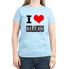I Heart (Love) Ceramics T-Shirt