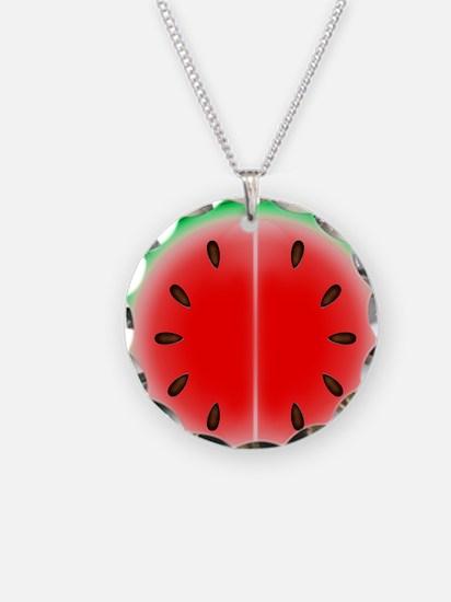 Watermelon Slice Necklace
