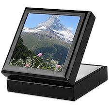 Matterhorn mountain Keepsake Box