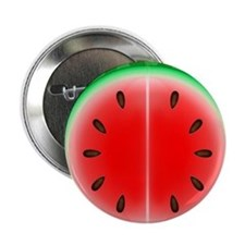 "Watermelon Slice 2.25"" Button"