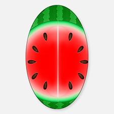 Watermelon Slice Sticker (Oval)