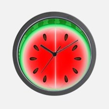 Watermelon Slice Wall Clock