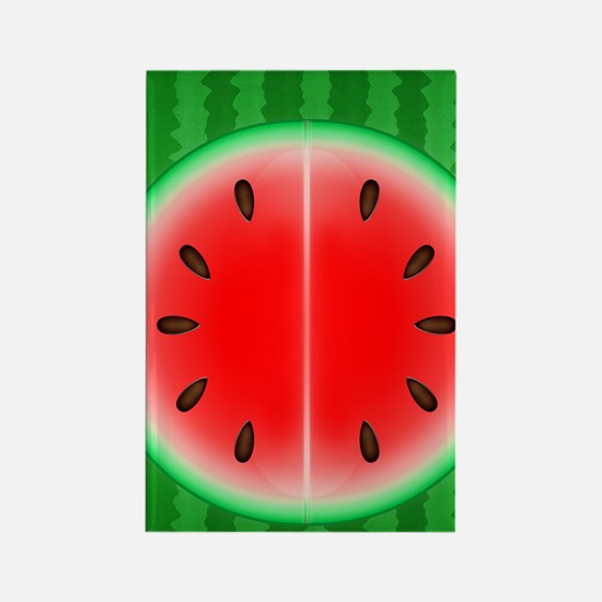 Watermelon Slice Rectangle Magnet