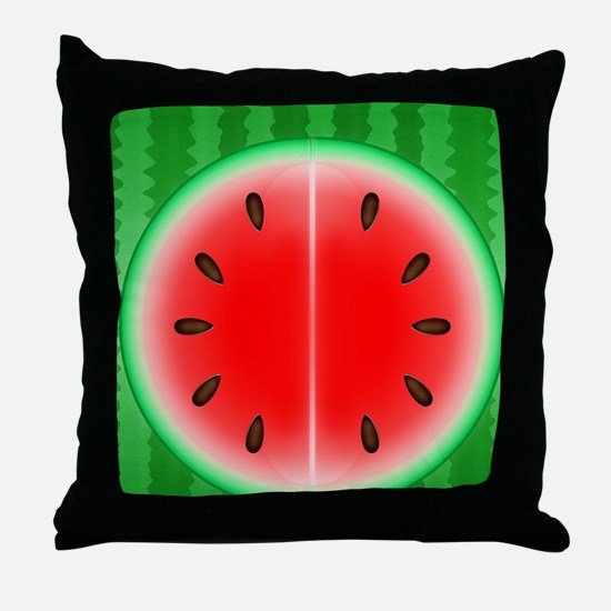 Watermelon Slice Throw Pillow