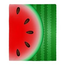 Watermelon Slice Throw Blanket