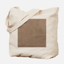 Brown corrugated cardboard graphic Tote Bag