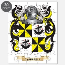 Campbell--(Ireland) Coat of Arms Puzzle