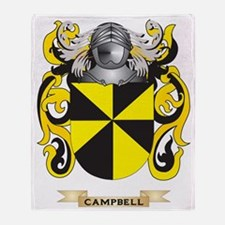 Campbell Coat of Arms Throw Blanket