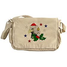 Merry Christmas Eagle Messenger Bag