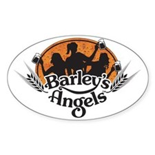 Barley's Angels logo w/ Beer Decal