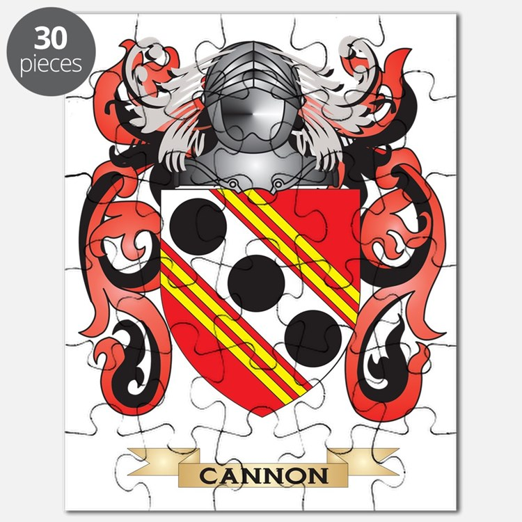 Cannon Coat of Arms Puzzle