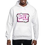 Let The Games Begin Bunco/Dice Hooded Sweatshirt