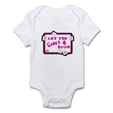 Let The Games Begin Bunco/Dice Infant Bodysuit