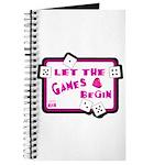 Let The Games Begin Bunco/Dice Journal