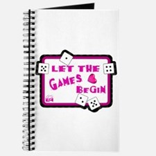 Let The Games Begin Bunco/Dice Journal