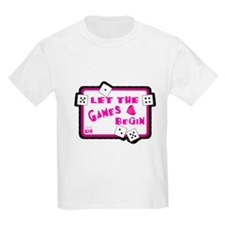 Let The Games Begin Bunco/Dice T-Shirt