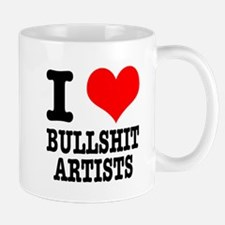 I Heart (Love) Bullshit Artists Mug