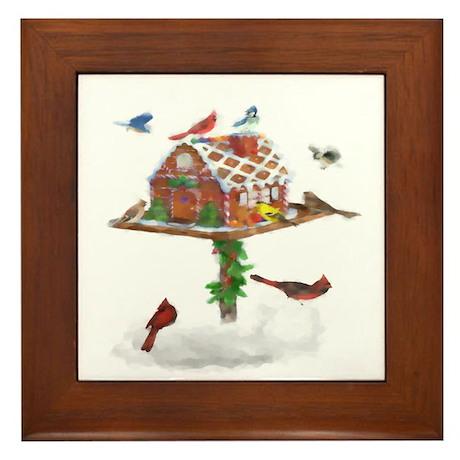 Ginger-Bird Framed Tile