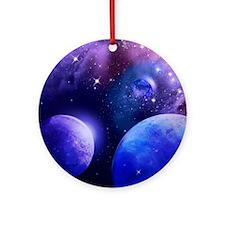 Universe Round Ornament