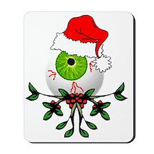 Christmas Eyeball Mousepad