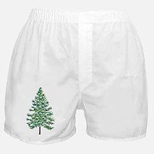 Eyeball Christmas Tree Boxer Shorts