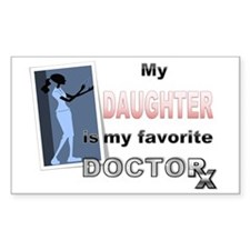 My Daughter is my Favorite Doc Decal