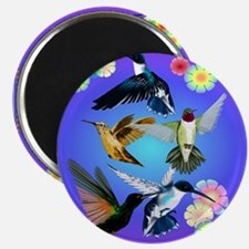 For The Love Of Hummingbirds Magnet