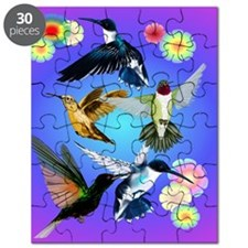 For The Love Of Hummingbirds Puzzle