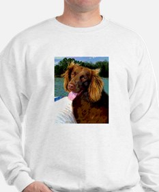 Boykin Spaniel on Board Sweatshirt