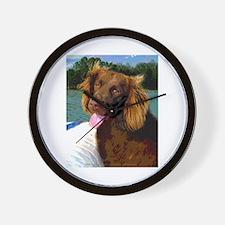 Boykin Spaniel on Board Wall Clock