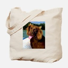 Boykin Spaniel on Board Tote Bag