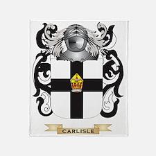 Carlisle Coat of Arms Throw Blanket