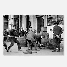 Police Seizing Bootleg Li Postcards (Package of 8)
