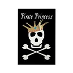 Pirate Princess Rectangle Magnet (10 pack)