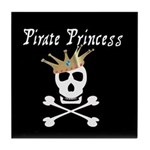 Pirate Princess Tile Coaster